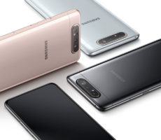 Samsung Galaxy A80 Easy to Hold
