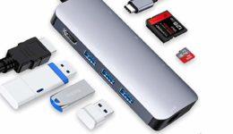 VILCOME 8-in-1 USB C Hub